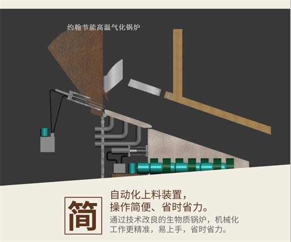 约翰节能生物质锅炉构造图