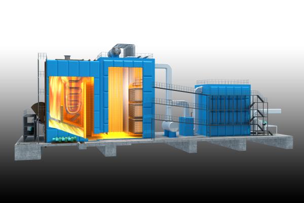 高温低氮燃烧技术