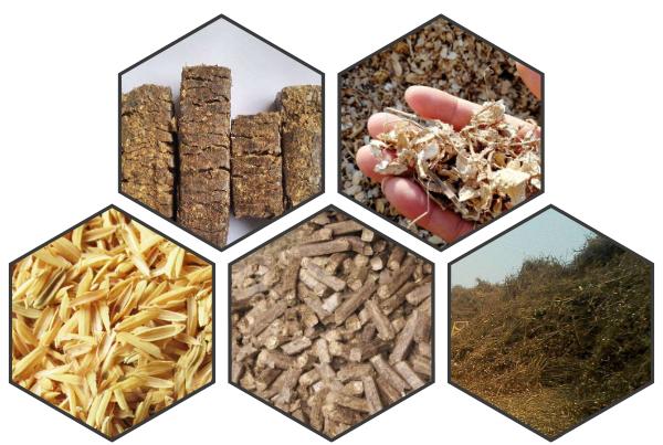 燃木块、压块、颗粒等生物质燃料